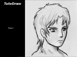 how to draw a face manga boy youtube