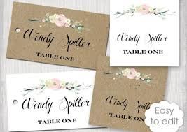 Wedding Place Cards Template Table Place Cards Awesome Name Cards For Table Awesome Name