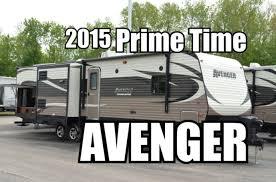 Avenger Rv Floor Plans by 2015 Prime Time Avenger 32bit Travel Trailer Youtube