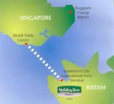 map batam inn batam resort