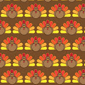 turkey and leaves for thanksgiving wallpaper juliematthews