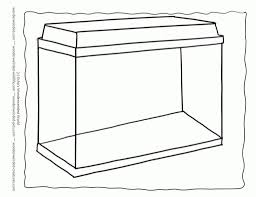 fish outline coloring page outline aquarium coloring pages template 1 here a setup of an