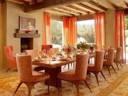 dining room orange dining room decorating ideas with modern