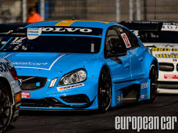 volvo race car polestar volvo s60 race team secures championship european car