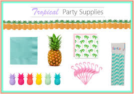 Tropical Party Themes - tropical party decor made easy