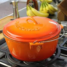 cast iron enamel cookware cajun classic dutch ovens 12 quart enamel cast iron dutch oven