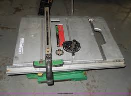 hitachi table saw price hitachi c10ra3 workbench table saw item ax9203 sold apr