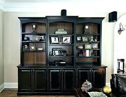 Bookcases With Doors Uk Solid Wood Black Bookcase Black Wooden Bookcases Doors Black