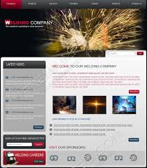 premium psd website template