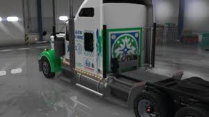 all kenworth trucks uncle d logistics all star dj service kenworth w900 skin