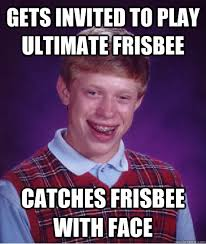 Ultimate Frisbee Memes - ultimate frisbee haha andrea she got her nickname shiner for a