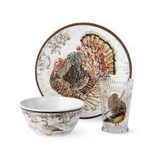 thanksgiving melamine dinnerware set williams sonoma