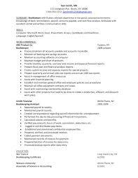 Accounts Payable Clerk Resume 100 Resume For Data Entry Job Accounts Payable Clerk Resume
