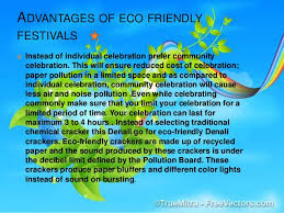 need for eco friendly festivals