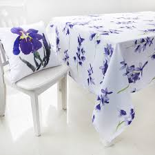 Online Shopping For Dining Table Cover Compare Prices On Purple Polyester Tablecloth Online Shopping Buy