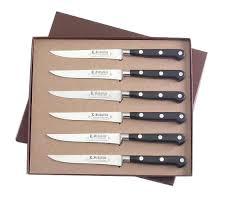 coffret de couteaux de cuisine coffret couteaux de cuisine coffret de 6 steaks 13 cm malette pour