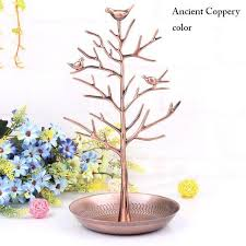 ornament holder bird tree jewelry display stand holder craft accessories