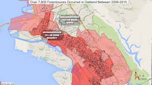 Oakland Ca Map Staggering Loss Of Black Wealth In Oakland Ca Due To