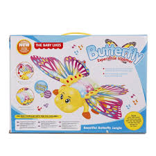 toys electric butterfly with light learning educational