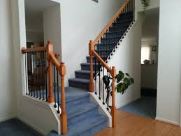 Replacing Banister Spindles Stairs Iron Baluster Installation U0026 Wood Spindle Removal Youtube