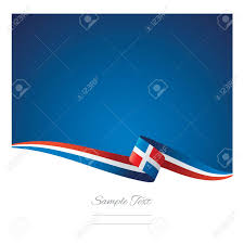 Dominican Republic Flag Abstract Color Background Dominican Republic Flag Vector Royalty