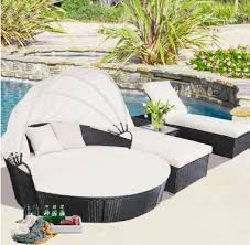 lovely bellagio 4 piece outdoor sectional daybed gorgeous round