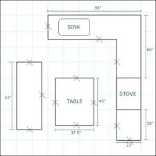 kitchen plans with islands kitchen floor plan image for small kitchen floor plans galley
