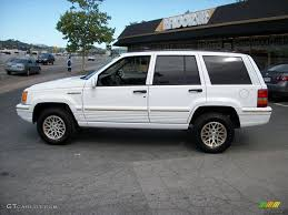 jeep grand 1995 limited 1995 white jeep grand limited 4x4 29097767 photo