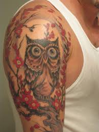 tribal owl tattoo owl tattoos designs and sketches