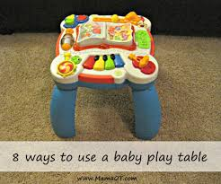 table toys play table 8 ways to use a baby play table