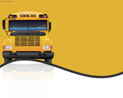 free children powerpoint templates children free ppt backgrounds school bus transportation