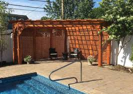 cedar pergola kits with and without canopies all sizes many