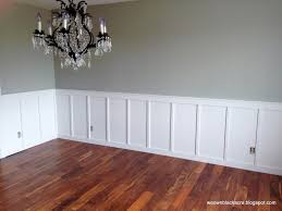diy wainscoting dining room