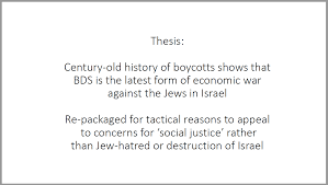 the real history of the bds movement bds news boycotts