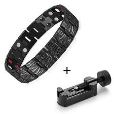 health bracelet titanium images Healing titanium magnetic bracelet bangle 2 row health care jpg