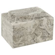 marble urns gray cultured marble cremation urn for ashes