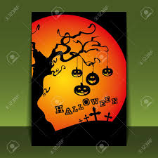 halloween cover photos halloween flyer or cover design royalty free cliparts vectors