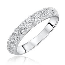 the bizz wedding band 1 1 2 ct t w diamond women s bridal wedding ring set 10k white gold