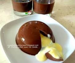 membuat puding fla resep puding coklat lava vla vanilla