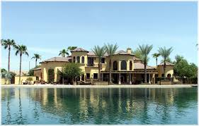 phoenix arizona waterfront homes waterfront luxury home in gilbert