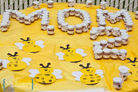 bee baby shower ideas bumble bee baby shower baby shower party ideas photo 3 of 20