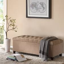 Storage Ottoman Tufted by Amazon Com Madison Park Shandra Bench Storage Ottoman With Tufted