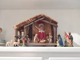 Home Interiors Nativity Set Elf On The Shelf Ideas