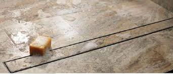quartz linear shower drain channel tile grate 28 inch by