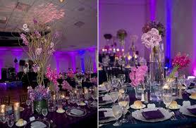 Purple Wedding Centerpieces Purple Orchid Wedding Flowers Megan U0027s Inspiration Board
