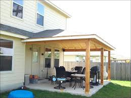 gamble roof permanent awnings for patios outdoor magnificent aluminum attached