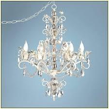 crystal plug in night light plug in chandelier chandelier interesting chandelier plug in swag