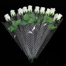 aliexpress com buy 11pcs lot fresh white rose artificial flowers