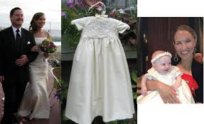 wedding dresses made to order wedding dress to christening or baptism gown conversion