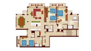 Boardwalk Villas One Bedroom Floor Plan by Villas At Wilderness Lodge Floor Plan U2013 Meze Blog